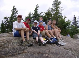 Bald Mountain Hike 2007